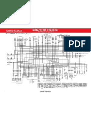 Honda CRF250L Wiring Diagram En | Vehicles | Machines on