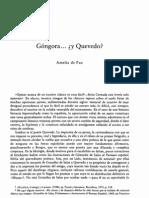 Góngora y Quevedo