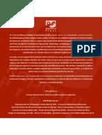 Comunicado de Prensa, Publicación Libro Compañía Explotadora (Segundo Volumen)