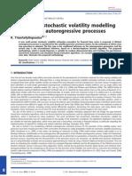 Multi-Variate Stochastic Volatility Modelling