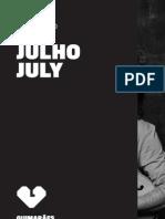 Guimarães 2012 - Agenda de Julho