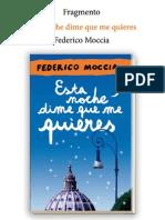 79985035 Esta Noche Dime Que Me Quieres Federico Moccia