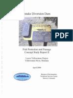 Intake Diversion Dam
