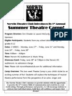Summer Camp Ad 2013