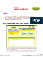 Complex Number Algebra Software 3