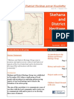 Skehana and District Heritage Group Newsletter, Summer 2013