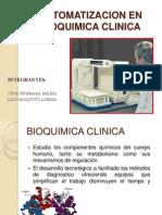 Automatizacion en Bioquimica Clinica
