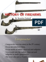 history of firearms powerpoint