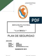 Plan de Seguridad Restaurant Recepcion Cafe La Choza