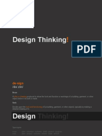 Design Thinking - An Introduction - Mpb May0813