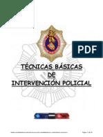 Tec n Basic Inter Ve Nci on Policial