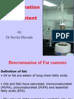 fat contents