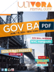 Governors Ball Festival Guide