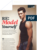 david Gandy Menshealth Uk November