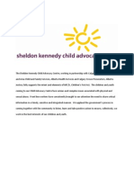The Sheldon Kennedy Child Advocacy Centre Statement on the Children First Act.