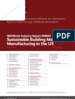 Sustainable Building Material Manufacturing in the US Industry Report