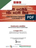 AIE - Seminario satellite e Convegno di Primavera 2013