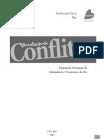 Manual de resolução de conflitos