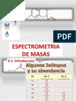 Tema 4 - Espectrometria Masas