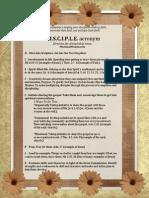Disciple Printable