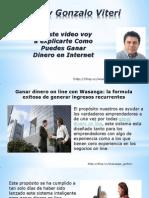 Ganar Dinero on Line Con Wasanga, La Formula Exitosa de Generar Ingresos Recurrentes