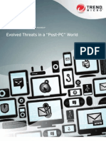 Evolved Threats in a Post PC World 2012 WP