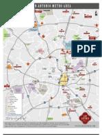San Antonio Downtown Map