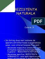 9. REZISTENTA NATURALA