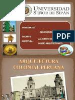 Arquitectura Colonial Peruana Final
