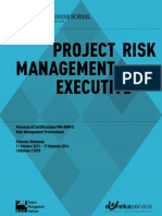 Brochure Corso Risk Luiss