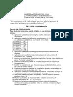 Ejercicios propuestos P1