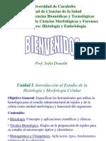 Clase 1. Histología y Microscopía