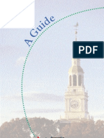 A Guide - For Prospective Dartmouth College Employees