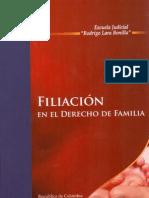 Abello, Julieta. Filiacion en El Derecho de Familia