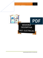 Memoria Descriptiva Electr