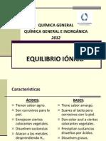 Equilibrio Ionico 2012