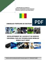 Exploitation Du WIMAX Pour Des Applications Mobiles