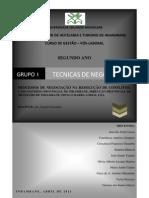 Tecnicas de Negociacao - Grupo 1