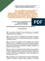 20_modelo Ordenanza Para La Gestion de Desechos Hospitalarios en Establecimientos de Salud