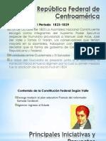 La República Federal de Centroamérica