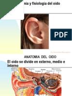 Curso de Anatomia y Fisiologia Del Oido, Hipoacusia y Trauma Acustico