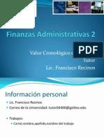 Finanzas Administrativas 2 S1