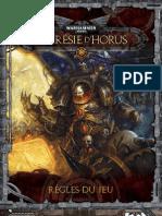 Horus Heresy - Règles en VF