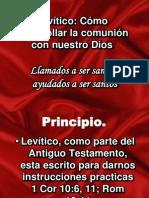 Levítico santidad practica I IBE Callao