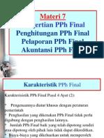 Materi 7 - PPh Final