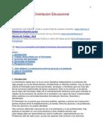 Orientación Educacional (Patricio Casanueva)
