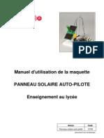 Notice Panneau Solaire Autopilote