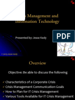 IT Crisis Management (2009)
