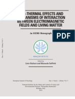 Non-Thermal Effects and Mechanisms of Interaction Between Electromagnetic Fields and Living Matter 2010