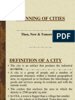 PLANNING OF CITIES